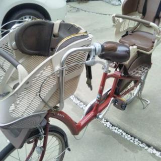 ワケあり 子供乗せ自転車 3人乗り ブリヂストン アンジェリーノ