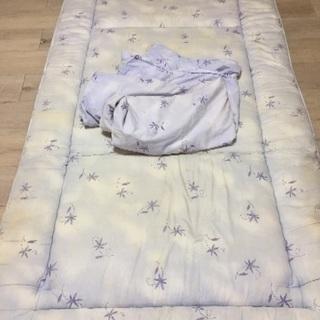 (株)全国月の友の会製・寝ing SE45 敷布団・カバー セット
