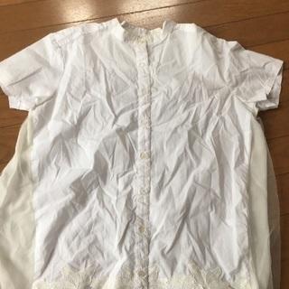 白 シャツ ブラウス