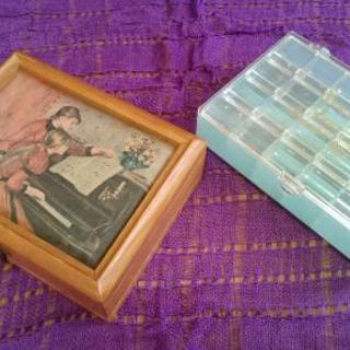 アクセサリー収納ボックス(2個)