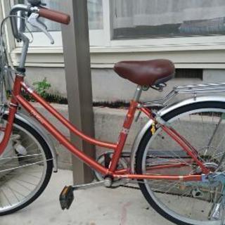 24インチの自転車です。サイクルベースあさひで購入