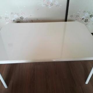 折り畳みテーブル白75cm×50cm