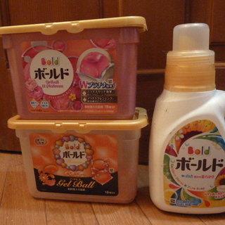 いろいろな 洗剤