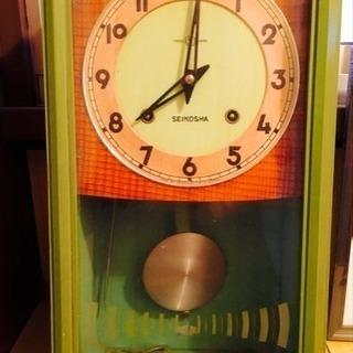 精工舎の振り子時計‼️ジャンク‼️