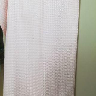 薄ピンクカーテン(2枚組)