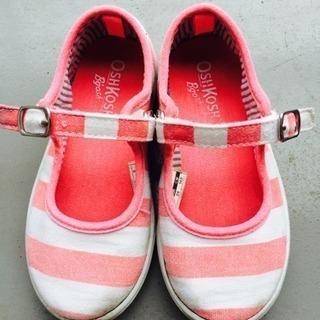 Oshkosh 子供靴 アメリカで購入