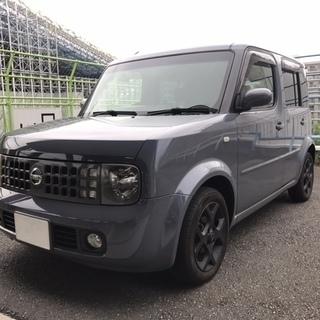 東京発 キューブ 4WD 車検残あり  コミコミ ETC スタッド...