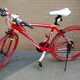 ベネトン クロスバイク(赤)