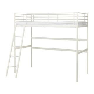 IKEAロフトベッド(SVARTA/ホワイト)