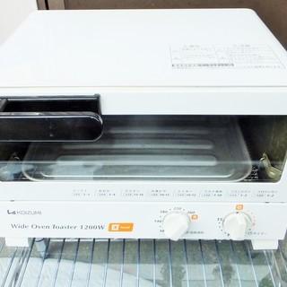 コイズミ KOIZUMI KOS-1202 オーブントースター◆食...
