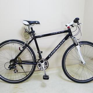 サスペンション付クロスバイク