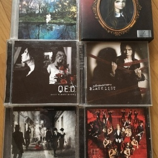 まとめ売り!Acid Black Cherry、Janne Da Arc