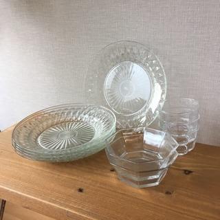 ガラスの器10点セット【食器3】