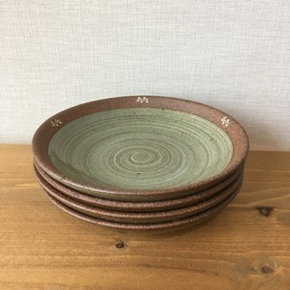 お皿陶器 4枚セット 【食器6】