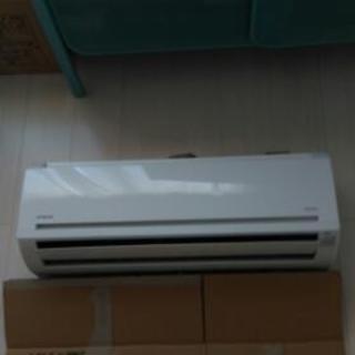 エアコン 本体及び室外機 白くまくん RAS-AJN28D