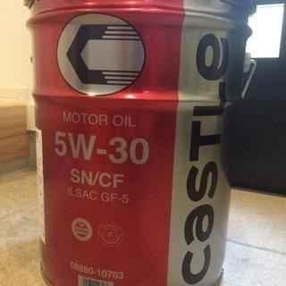 トヨタ キャッスル 5W-30 SN/CF 純正エンジンオイル