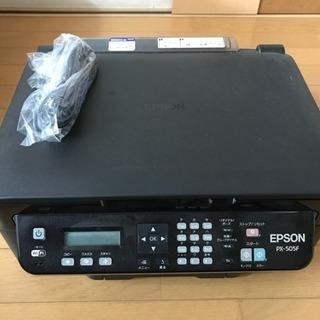 EPSON PX-505F 中古 交換インク多数付き