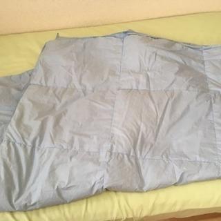 洗える!薄手の羽毛布団