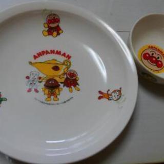 アンパンマン カレー皿&サラダボウル