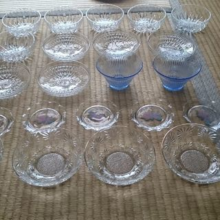 ガラス 皿 中古 多数セット