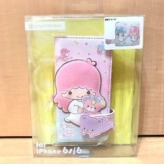 【新品未開封】iphon6 6s キキララフリップケース くま i...
