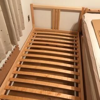 IKEA シングルベッドフレーム & すのこ
