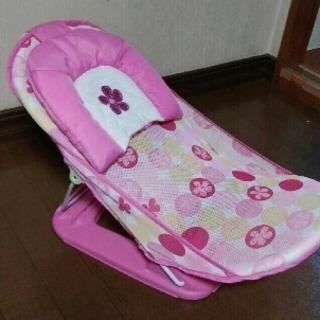 折り畳み式バスチェア☆ピンク女の子お風呂