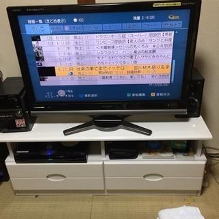 AQUOS 37型 液晶テレビ