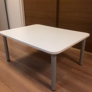 【使用歴3年半】シンプルなセンターテーブルお譲りします!ホワイトの机