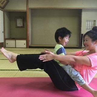 浦和美園駅3F ☆  ママとヨーガ