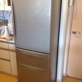 冷蔵庫 320L グレー