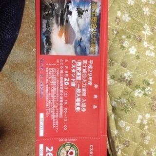 自衛隊富士火力総合演習  26日