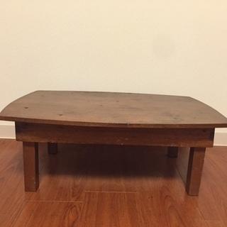 昭和レトロ アンティーク折りたたみテーブル