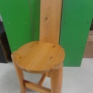 3c47 チェア(大) 木製 中古 引取限定