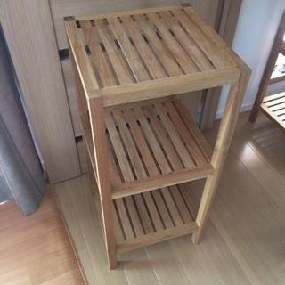 フランフラン  木製ラック2段