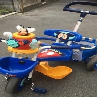 ミッキー  ポップンカーゴ三輪車