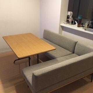 UNICO  ダイニングテーブルソファセット
