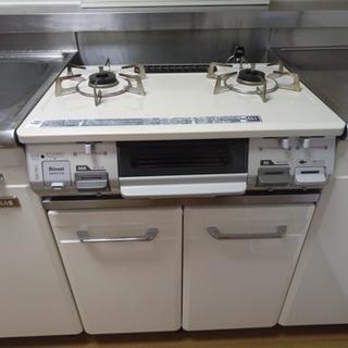 2016年製リンナイガスコンロ(BKM77CBL)