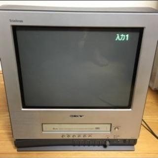 SONY テレビデオ 17インチ 良品