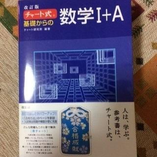 青 チャート式 ⅠA