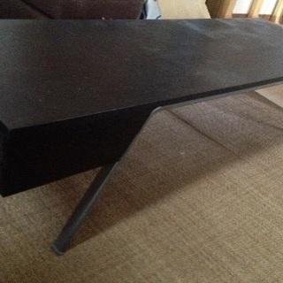 IKEA製TVボード ローテーブル黒