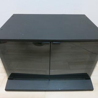 テレビ台 黒 横65㎝×縦44㎝×高さ42㎝