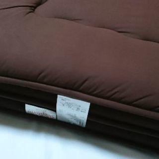 西川リビング 敷布団100×210(SL)ブラウン
