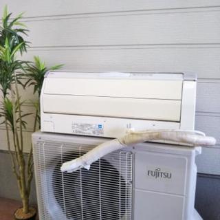エアコン2011年製/5.6kw/FUJITSU/15-23畳用激安で!