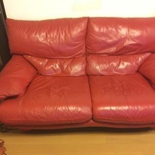 本革 イタリア製 ソファー