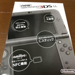 Newニンテンドー3DS LL メタリックブラック【メーカー生産終了】
