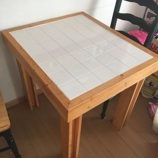 テーブル DIY カントリー風