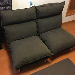 無印良品 ハイバックリクライニングソファ