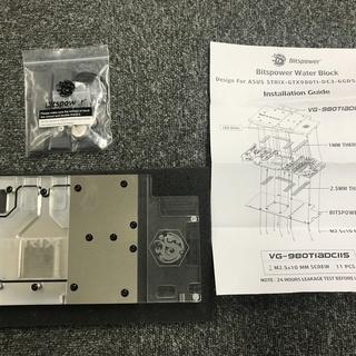 希少 Bitspower ASUS STRIX-GTX980TI-...