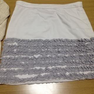 アーバンリサーチ フリルタイトスカート
